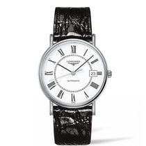 Longines Présence Steel 38.5mm White Roman numerals United States of America, Iowa, Des Moines