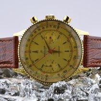 Breitling 808 Oro amarillo 1955 Chronomat 37mm usados