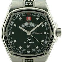Scalfaro Steel 42mm Automatic pre-owned