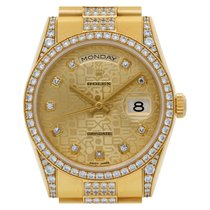 Rolex 118388 Or jaune 2008 Day-Date 36 36mm occasion