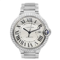 Cartier Ballon Bleu 42mm Steel 42mm Silver Roman numerals United States of America, New York, New York