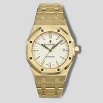 Audemars Piguet Royal Oak Selfwinding Жёлтое золото 37mm Cеребро
