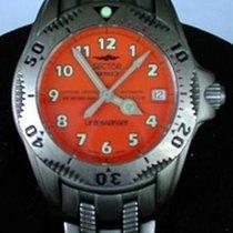 Sector 950 Titanium 37mm Orange Arabic numerals