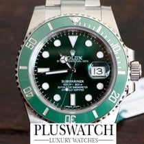 "Rolex Submariner Date ""Hulk"" 116610LV"