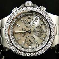 Breitling MENS BREITLING HERCULES DIAMOND STAINLESS STEEL BAND...