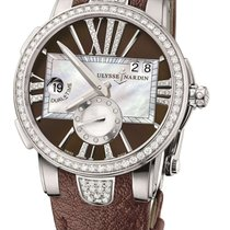 Ulysse Nardin Executive Dual Time Lady Stainless Steel...
