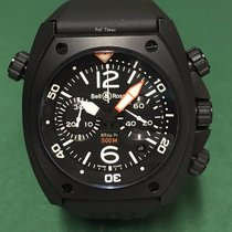 伯莱士 (Bell & Ross) BR02-94 Diving Chronograph PVD-Steel Coating...