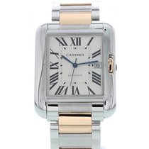 Cartier Tank Anglaise Steel 37mm Silver United States of America, New York, New York