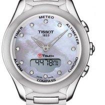 Tissot Touch T075.220.11.106.00 Nuevo Acero 39,5mm Cuarzo