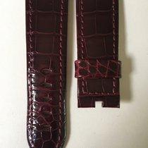 Panerai 24/22mm Brillant Bordeaux Alligator Strap 98/68cm