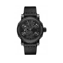 Romain Jerome Steampunk Auto 46 Gunmetal Black