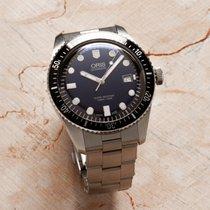 Oris 42mm Automatisch 2015 tweedehands Divers Sixty Five Blauw