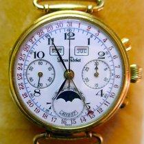 Lucien Rochat Chronograph 37.5mm Handaufzug 1986 gebraucht Weiß