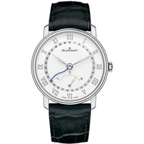 Blancpain Villeret Ultra-Slim Steel 40mm White Roman numerals United States of America, New York, New York