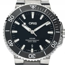 Oris Aquis Date 01 733 7730 4124-07 8 24 05EB new