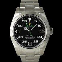 Rolex Air King neu 2018 Automatik Uhr mit Original-Papieren 116900