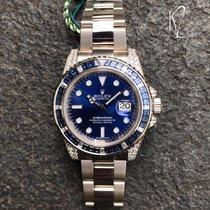 Rolex Submariner Date Weißgold 40mm Blau