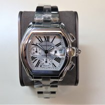Cartier Roadster Steel Silver Roman numerals United States of America, Illinois, Chicago