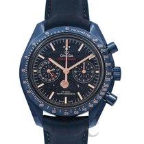 Omega Speedmaster Professional Moonwatch Moonphase Керамика Синий