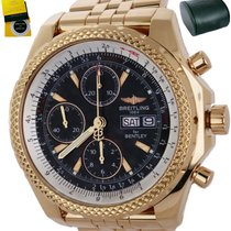 Breitling Bentley GT pre-owned 44.8mm Black Chronograph Rose gold