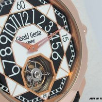 Gérald Genta Růžové zlato 43mm Automatika OTR.Y.50 nové
