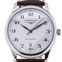 Longines Master Collection Stal 39mm Biały