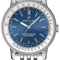 Breitling Navitimer Steel 38mm Blue United States of America, California, Moorpark
