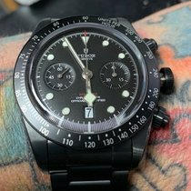Tudor Black Bay Chrono Zeljezo 41mm Crn
