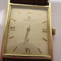 Milus Yellow gold 250mm Manual winding 63R pre-owned