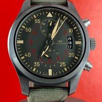 IWC Pilot Chronograph Top Gun Miramar Ceramic 46mm Grey Arabic numerals