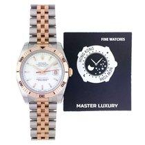 Rolex Datejust Turn-O-Graph neu 2014 Automatik Uhr mit Original-Box und Original-Papieren 116261