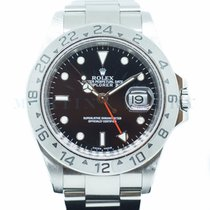 Rolex Explorer II Steel 40mm Black No numerals