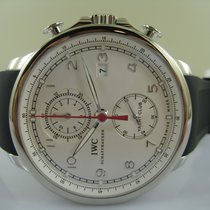IWC Portuguese Yacht Club Chronograph new Automatic Chronograph Watch with original box and original papers