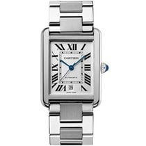 Cartier Tank Solo Steel 31mm Silver Roman numerals United States of America, Pennsylvania, Holland