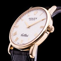 Rolex Cellini 18K Gold Hochfeine Handaufzug Herrenuhr Full Set