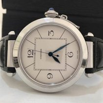 a5d96dfed3a Cartier Pasha Extra Large Automatic Steel   Leather