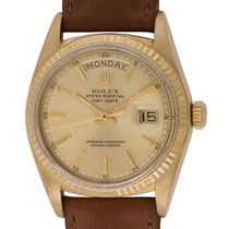 Rolex : Day-Date President :  1803 :  18k Gold : champagne dial