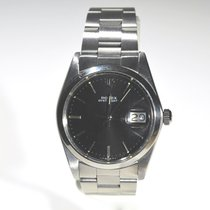 Rolex Oyster Date Precision with Striking Black Dial Ref. 6694