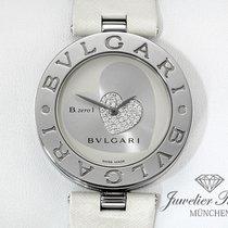 Bulgari B Zero 1 Medium 35 mm Edelstahl Diamanten  BZ 35 S