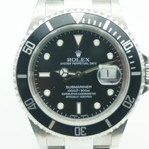 Rolex Submariner Date Stainless Steel Black Dial 16610T 2005...