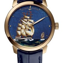 Ulysse Nardin Classico new 2020 Automatic Watch with original box and original papers 8156-111-2/KRUZ