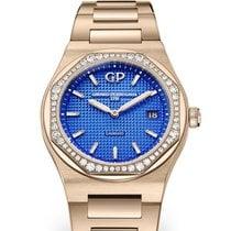 Girard Perregaux Laureato 80189D52A434-52A Girard Perregaux LAUREATO Oro Rosa Blu 34mm new