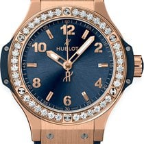 Hublot Big Bang 38 mm Rose gold 38mm Blue United States of America, New York, Airmont