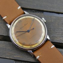 Mathey-Tissot vintage hand wind RARE serviced lovely dial 33mm...