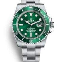 勞力士 Submariner Date 鋼 40mm 綠色 無數字 香港, Tsim Sha Tsui, Kowloon, Hong Kong ( By Appointment Only )
