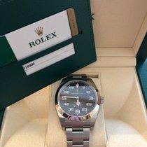 Rolex Air King neu 2019 Automatik Uhr mit Original-Box und Original-Papieren 116900