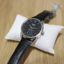 Tissot Chronograf 43mm Ruční natahování 2018 nové T-Complication Černá