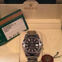 Rolex Datejust II Staal 41mm Zwart Nederland, utrecht