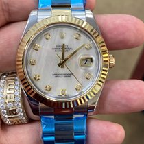 Rolex Datejust II Gold/Steel 41mm Black Roman numerals United States of America, New Jersey, Totowa