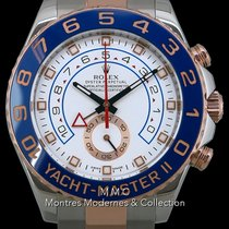 Rolex Yacht-Master II Zlato/Ocel 44mm Bílá